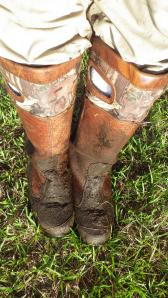 Who will fill my muddy boots?